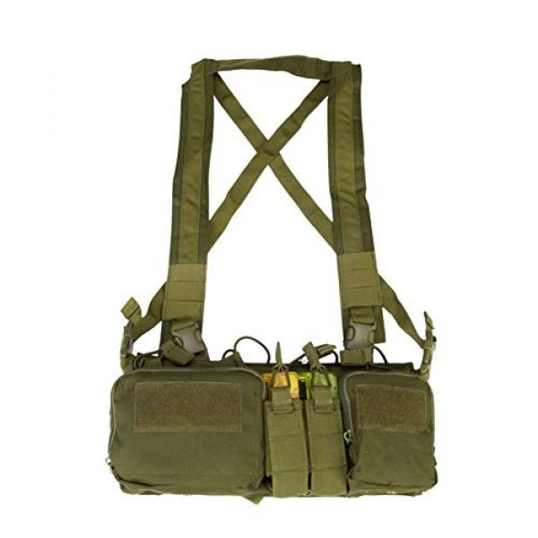 Shefure Airsoft Tactical Vest 4 Shefure CS Match Wargame TCM Chest Rig Airsoft Tactical Vest Military Pack Magazine Pouch Holster Molle System Waist Men Nylon