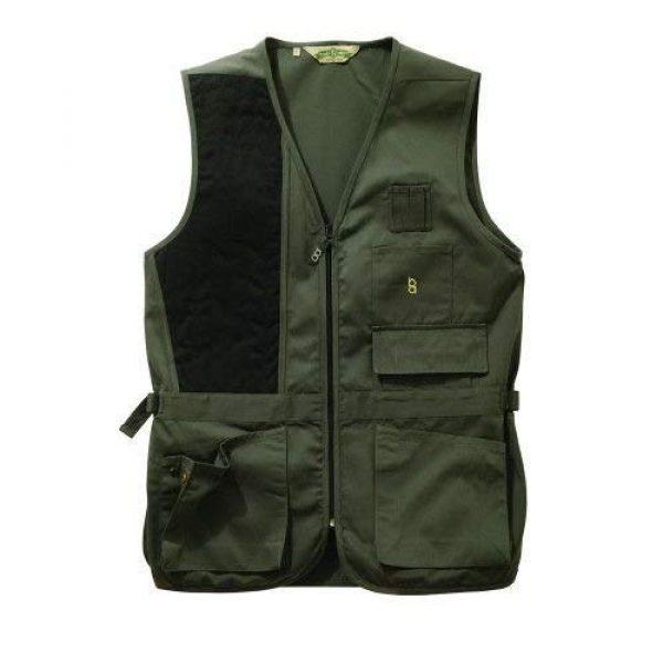 Bob-Allen Airsoft Tactical Vest 1 Bob-Allen 30187 240S Left Hand Shooting Vest, Sage, 2X