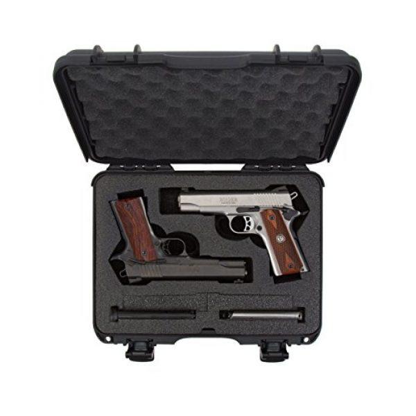 Nanuk Pistol Case 5 Nanuk 910 Waterproof 2UP Classic Pistol Hard Case