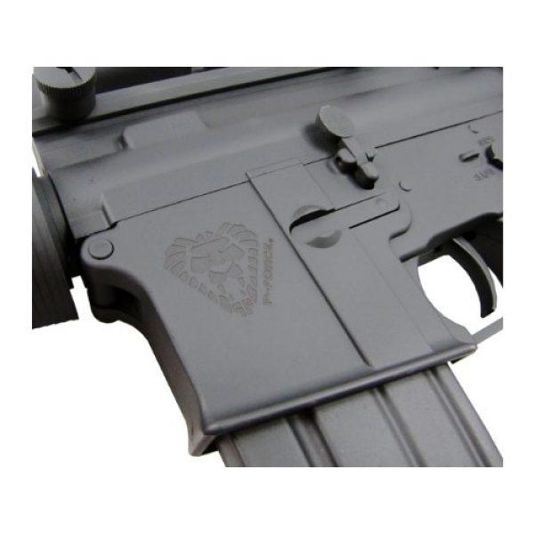 P-Force Airsoft Rifle 5 PForce M4 Full Metal Semi and Full Auto Electric AEG Airsoft Rifle