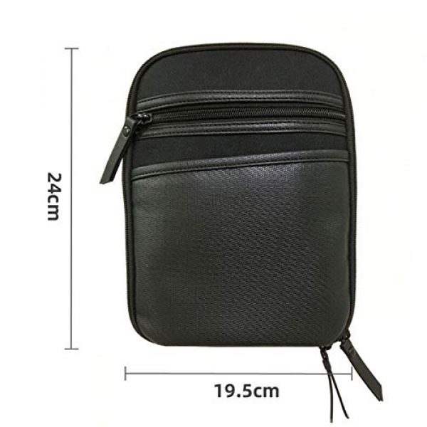 LIVIQILY Pistol Case 7 LIVIQILY Concealed Carry Pistol Cases Outdoor Tactical Holster Fanny Pack Gun Pouch Waist Pocket Hip Belt Bag Wallet for Handgun