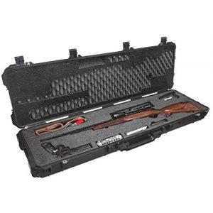 Case Club Rifle Case 1 Case Club Hunting Rifle Pre-Cut Waterproof Case with Accessory Box and Silica Gel to Help Prevent Gun Rust (Gen 2)