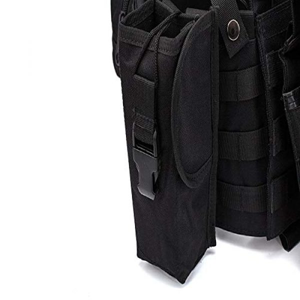 BGJ Airsoft Tactical Vest 4 BGJ Men Military Tactical Vest Paintball Camouflage Molle Hunting Vest Assault Shooting Airsoft Vests Outdoor Clothes Accessories