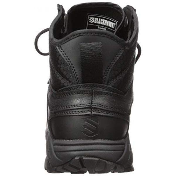 "BLACKHAWK Combat Boot Polish 3 BLACKHAWK! Trident Ultralite 6"" Tactical Boots Leather/Nylon Men's"