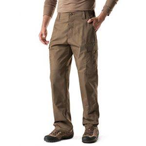 CQR Tactical Pant 1 Men's Tactical Pants, Military Combat BDU/ACU Cargo Pants, Water Repellent Ripstop Work Pants, Hiking Outdoor Apparel