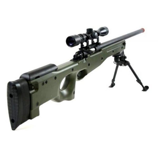 BBTac Airsoft Rifle 3 BBTac BT-96 Bolt Action Sniper Rifle w/ 3-9x Scope and Bipod - OD GREEN