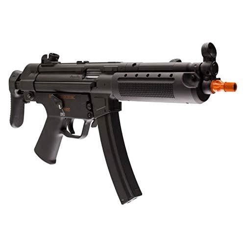 Wearable4U  5 Umarex HK Heckler&Koch MP5 A5 Elite Series AEG Electric Automatic 6mm BB Rifle Airsoft Gun with Wearable4U Bundle