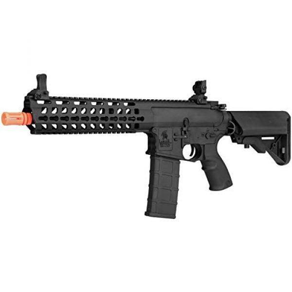 "Lancer Tactical Airsoft Rifle 3 Lancer Tactical 10.5"" Rapid Deployment Carbine M4 RDC Airsoft AEG Rifle Low Speed Black"