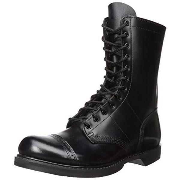 Corcoran Combat Boot 1 Men's 10 Inch Side Zipper Jump Boot-M