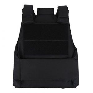 Alomejor Airsoft Tactical Vest 1 1Pc Vest Wear-Resistant Adjustable Vest Guard Waistcoat CS Field Training Protective Vest Campus Accessory
