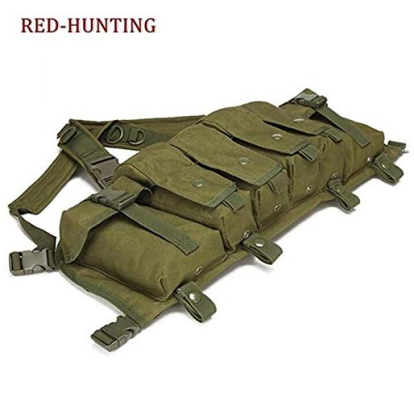 Shefure Airsoft Tactical Vest 5 Shefure New Camouflage Tactical Vest Airsoft Ammo Chest Rig AK 47 Magazine Carrier Combat Military Outdoor Paintball Hunting Vest