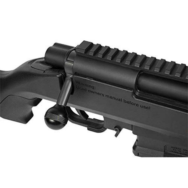 Elite Force Airsoft Rifle 4 Elite Force Amoeba AS-02 Striker Rifle 6mm BB Sniper Rifle Airsoft Gun, Black