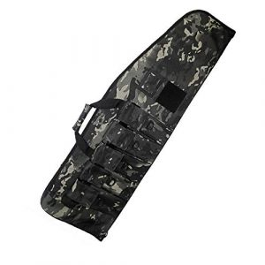 Warriors Product Rifle Case 1 Warriors Product 38 42 Inch Tactical Rifle Case Rifle Bag Long Single Gun Case,with Water Dust Resistant for Hunting Shooting Storage Transport