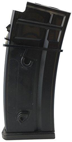 SportPro  1 SportPro 130 Round Polymer Medium Capacity Magazine for AEG G36 Airsoft - Transparent