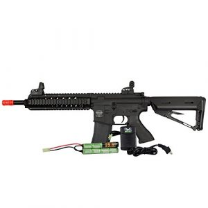 Valken Airsoft Rifle 1 Valken MOD-M-BLK Battle Machine Rifle Combo