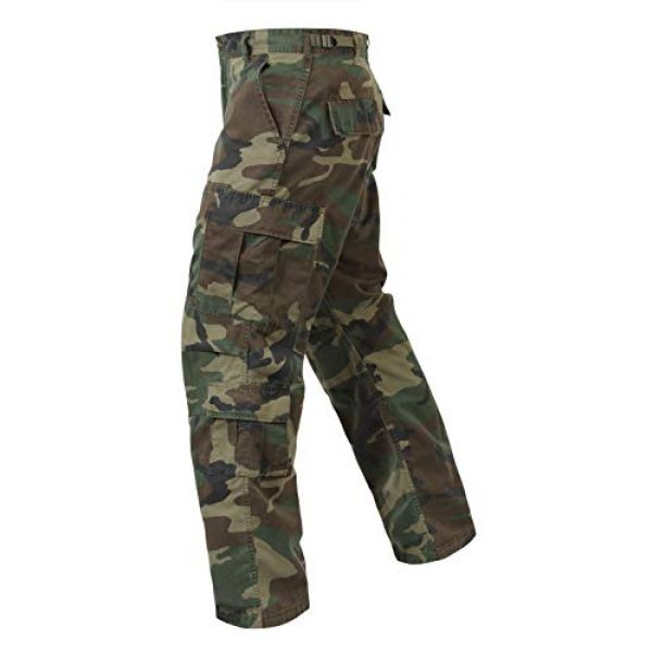 Rothco Tactical BDU Pant 3 Vintage Paratrooper Fatigues - Woodland Camo - X-Large (39-43)