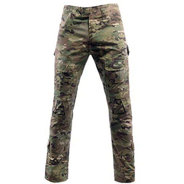 LANBAOSI Tactical Pant 1 Men's Airsoft Pants Multicam Tactical Military Camo Hunting Combat Cargo Uniform Pants
