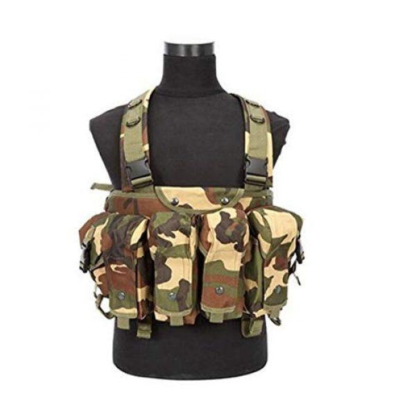 Redland Art Airsoft Tactical Vest 1 Redland Art New Camouflage Tactical Vest Airsoft Ammo Chest Rig AK 47 Magazine Carrier Combat Military Outdoor Paintball Hunting Vest Airsoft Tactical Vest