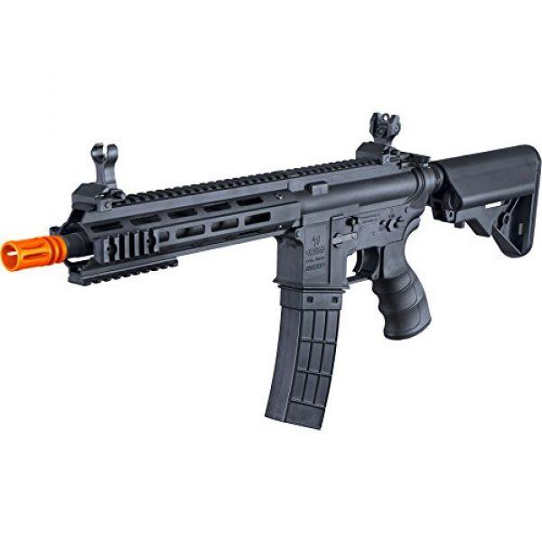 Tippmann Airsoft Airsoft Rifle 3 Tippmann Tactical Recon AEG CQB 9.5in Airsoft Rifle Black
