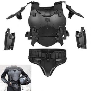 WoSporT  1 Airsoft Vest Body Armor Vests Adjustable Tactical Molle Chest Protector Vest+Elbow+Shoulder+Crotch+Battle Belt Set Paintball Military Combat Training Gear Motorcycle CS Cosplay Movie Costumes