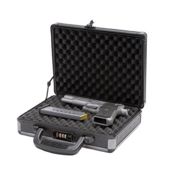 T.Z. Case International Pistol Case 2 T.Z. Case International Ironite Single Pistol Case, Black, 11.5-Inch