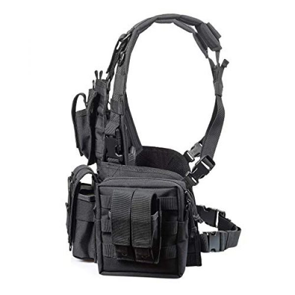 GXYWAN Airsoft Tactical Vest 6 GXYWAN Tactical CS Field Vest Paintball Training Air Gun Super Light Breathable Combat Adjustable Vest