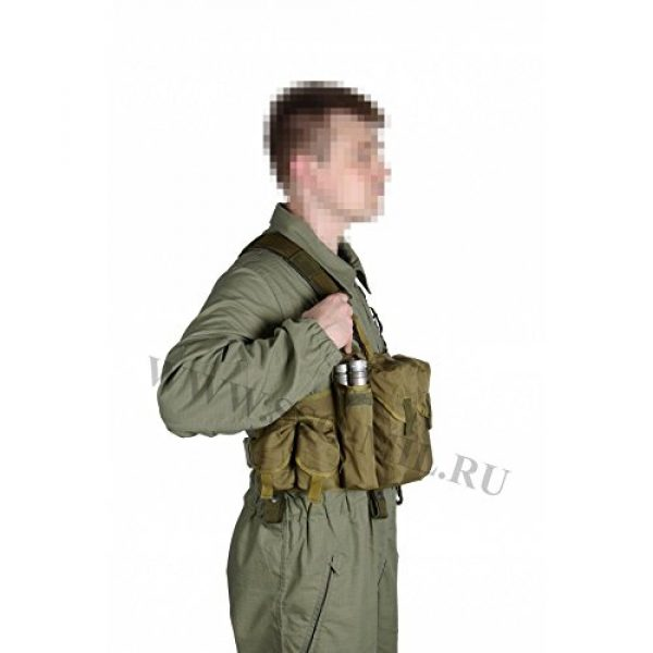 SSO/SPOSN Airsoft Tactical Vest 2 SSO/SPOSN Russian Military Bags for Breast Jaeger (Military Vest)