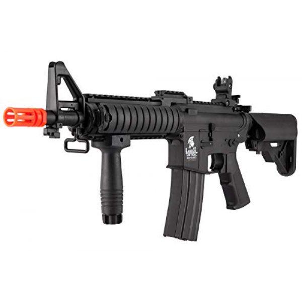 Lancer Tactical Airsoft Rifle 3 Lancer Tactical MK18 Polymer Low FPS MOD 0 AEG Airsoft Rifle Black
