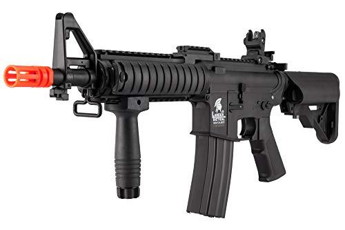 Lancer Tactical  3 Lancer Tactical MK18 Polymer Low FPS MOD 0 AEG Airsoft Rifle Black