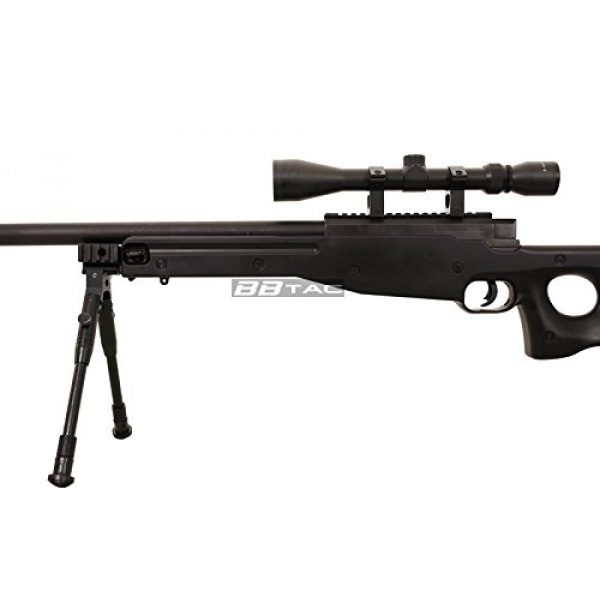 BBTac Airsoft Rifle 6 BBTac b96 awp airsoft sniper rifle with 3-9x40 scope and bi-pod warrior 1(Airsoft Gun)
