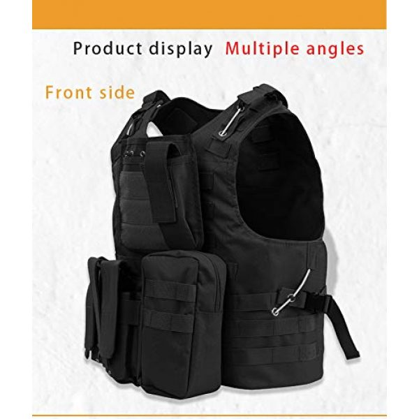 BGJ Airsoft Tactical Vest 5 Tactical Plate Carrier Hunting Vest Military Vest Airsoft Gear Body Armor Army Tactical Vests Military Hunting Accessoris