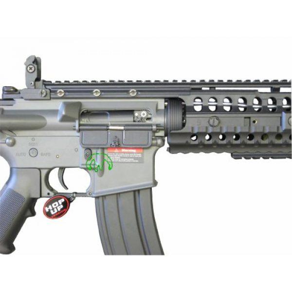 Jing Gong (JG) Airsoft Rifle 3 JG 2010 Version 432 FPS M4 S-System Metal Gear Electric Airsoft AEG