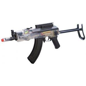 Game Face Airsoft Rifle 1 Game Face 76 Airsoft Rifle, Black/Clear