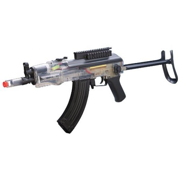 Game Face Airsoft Rifle 1 Game Face 76 Airsoft Rifle, Black/Clear