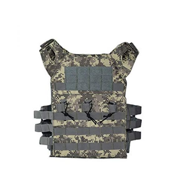 PJKKawesome Airsoft Tactical Vest 1 Chest Vest Airsoft Chest Protector Vest Outdoor Sports Body Armor for Outdoor Activities Free Size Multicolor