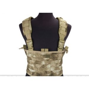 enmu pancho Airsoft Tactical Vest 1 Condor Gen.4 Tactical MOLLE OPS Chest Rig for airsoft gaming - A-TACS