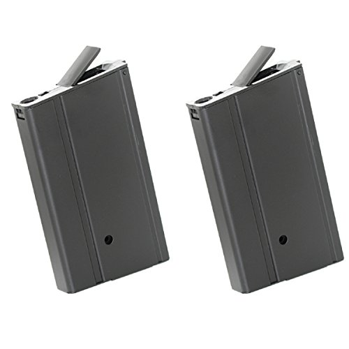 Airsoft Shopping Mall  1 Airsoft Shooting Gear CYMA 2pcs 400rd Hi-Cap Mag Magazine For M-Series AEG Black