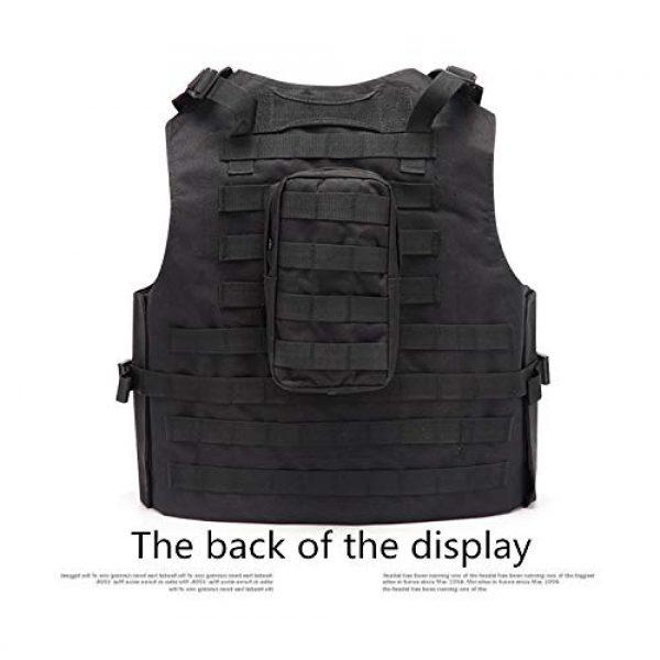 NEW VIEW Airsoft Tactical Vest 6 NEW VIEW Tactical Vests Amphibious Combat Vest