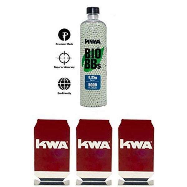 KWA Airsoft BB 1 KWA - 0.25g Bio BB Bottle (5000 RDS) + 3 Target