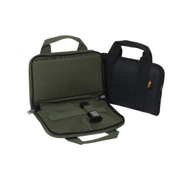US PeaceKeeper Products Pistol Case 2 US Peacekeeper Attache Gun Case