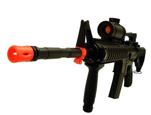 Well  1 Well M16 RIS Electric Airsoft Machine Gun AEG