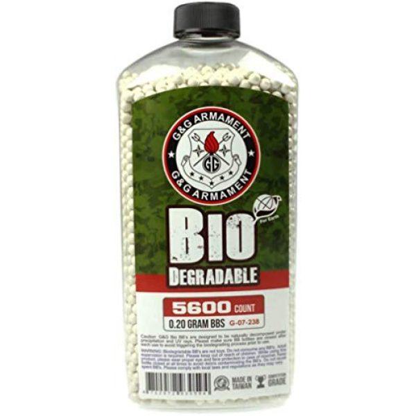 G&G Airsoft BB 1 G&G Bio BB 0.2g (Bottle/5600 Pellets) (White)