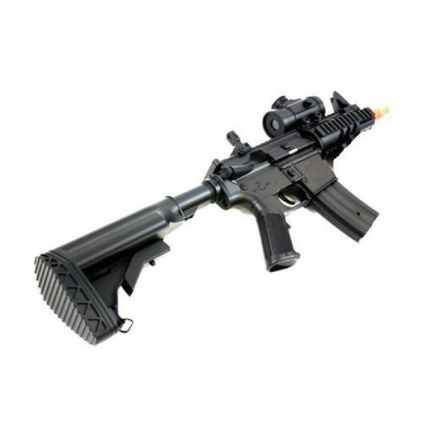 Double Eagle Airsoft Rifle 3 2011 315-fps Airsoft Rifle m16/m4 Style red dot Version 1 1 Double Eagle cqb 614 aeg Full auto Rifle Electric Airsoft Gun Airsoft Rifle Gun Assault Rifle Gun(Airsoft Gun)