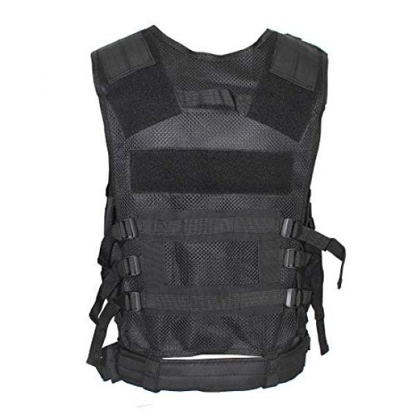 Yoghourds Airsoft Tactical Vest 2 Yoghourds Adjustable Breathable Vest, Ultra-Light Tactical Vest for Men for Hunting/Fishing/CS Field Operations/Cosplay
