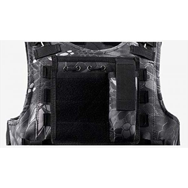 BGJ Airsoft Tactical Vest 4 BGJ Military Tactical Vest Equipment Molle Assault Carrier Airsoft Vest Outdoor Shooting CS Hunting Combat Camouflage Vest Gear