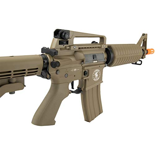 Lancer Tactical  4 Lancer Tactical M933 Commando Proline Airsoft AEG Low FPS TAN