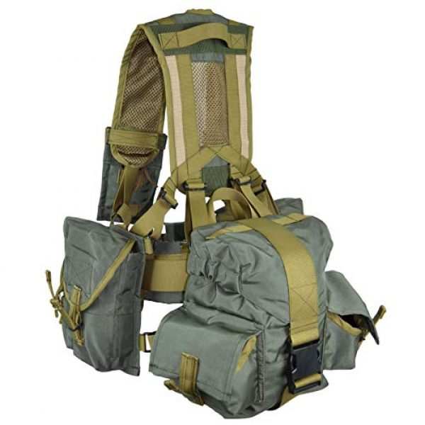 RedBear Airsoft Tactical Vest 4 Tactical Vest Harness Sbruya Partisan Spetsnaz Belt System Replica