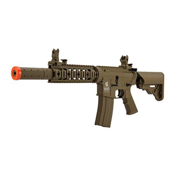 Lancer Tactical Airsoft Rifle 2 Lancer Tactical Airsoft M4 SD GEN 2 Polymer AEG - TAN