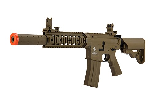 Lancer Tactical  2 Lancer Tactical Airsoft M4 SD GEN 2 Polymer AEG - TAN