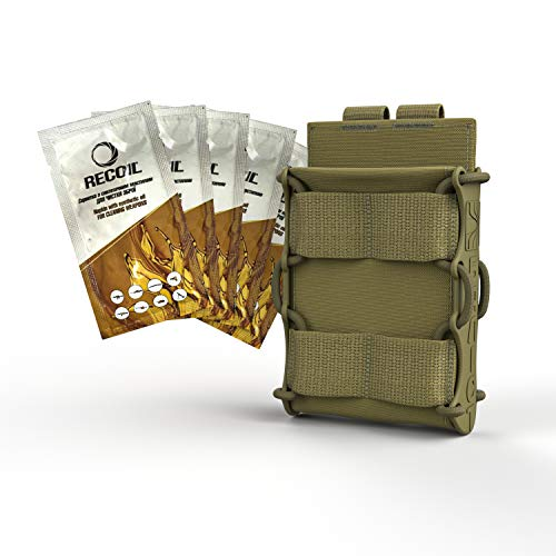 ATAIRSOFT  1 ATAIRSOFT KOLCHAN Fast MAG Mini Pouch 5.56mm 7.62mm 5.45mm Top Open Magazine Pouches Airsoft Hunting Equipment Holder Very Durable of 1000 D Cordura fastmag Holster and MOLLE Compatible